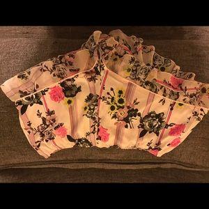 Victoria's Secret silk sleep shorts
